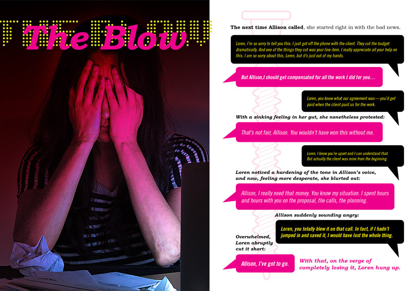 the blow page