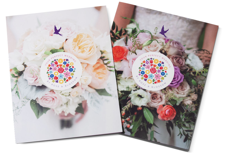 rose and blossom folder 2